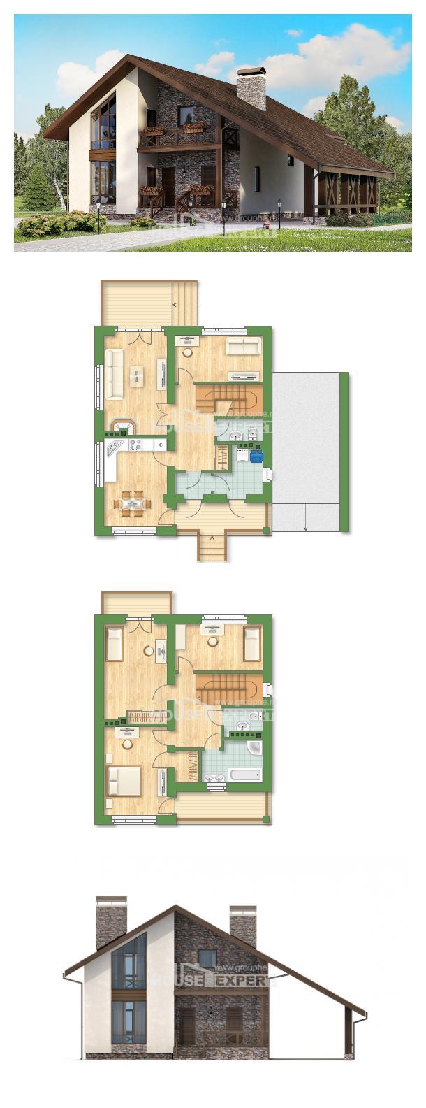 Проект дома 155-007-П | House Expert