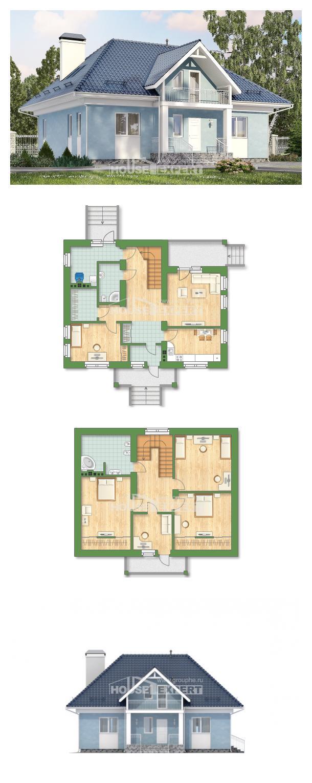 Проект дома 200-002-П   House Expert
